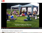 rosemary gladstar herbal conference video newfound lake NH
