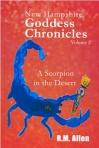 Scorpion in the desert cover mini