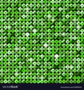 Banner Green Sequin Mosaic Glitter Sparkle Glow.