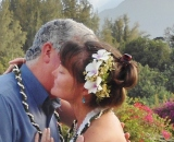 Mr & Mrs Zeus, married in Kauai,  Jan 2014