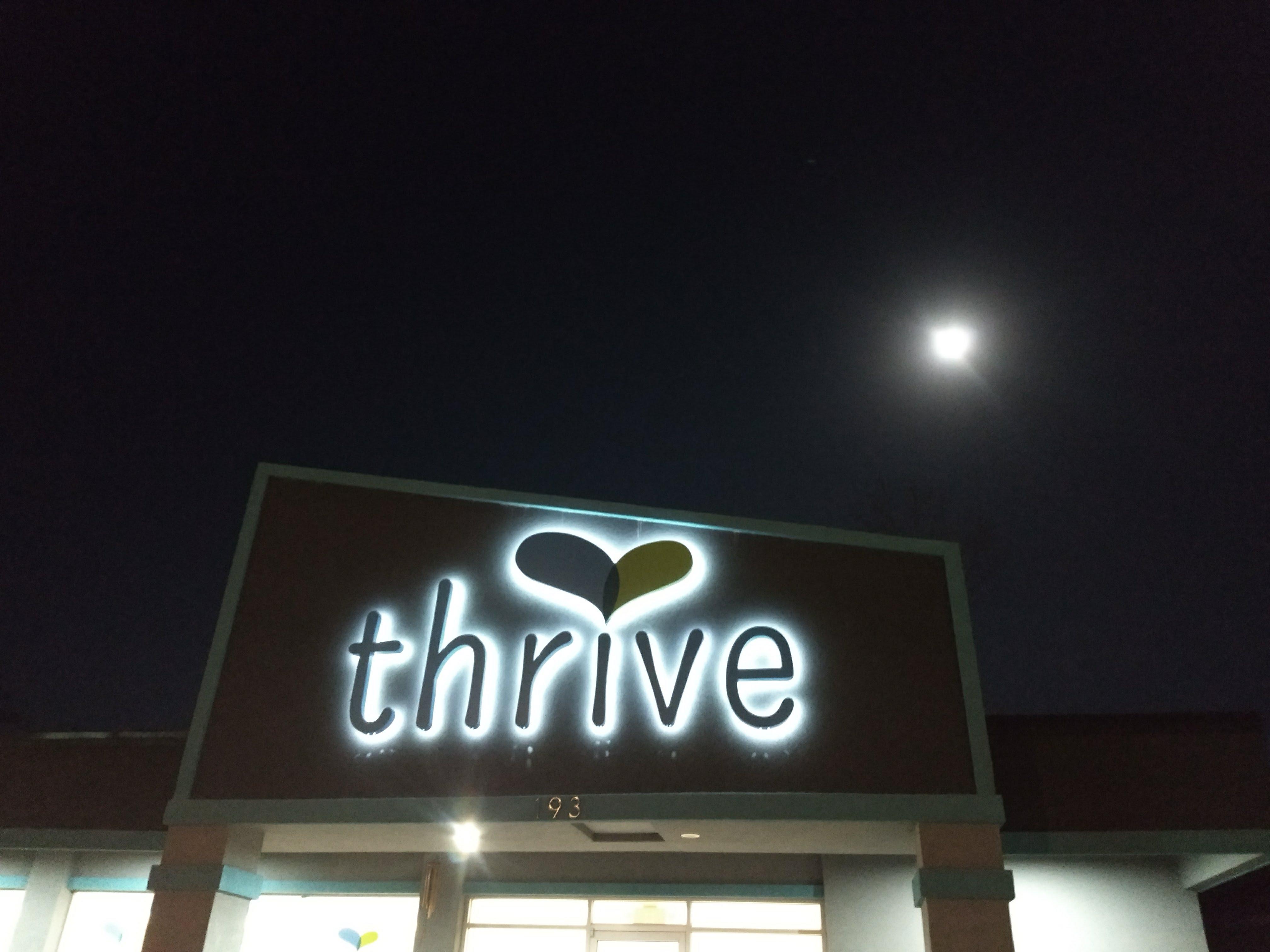 Thrive Yoga Studio of St Augustine FL super full moon in Virgo 2018